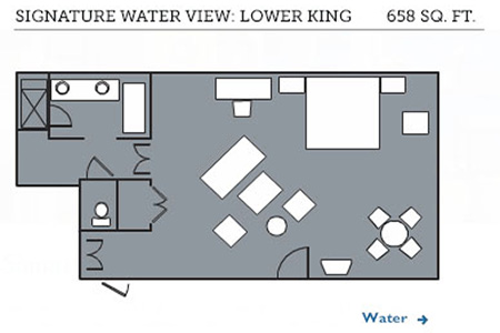 Signature Water View Lower King floor plan
