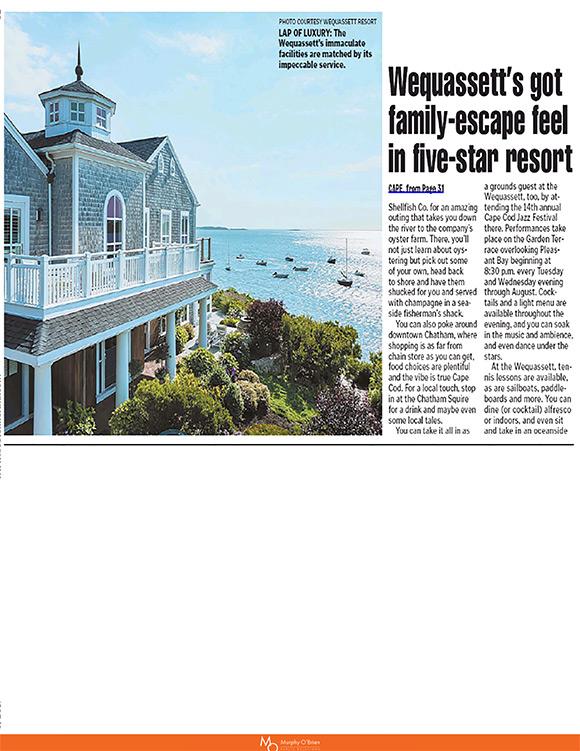 Boston Herald article spread