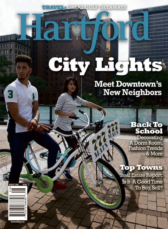 Hartford Magazine August 2016 cover