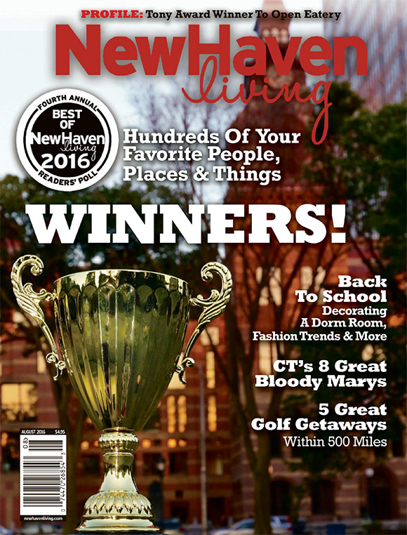 New Haven Living August 2016 cover