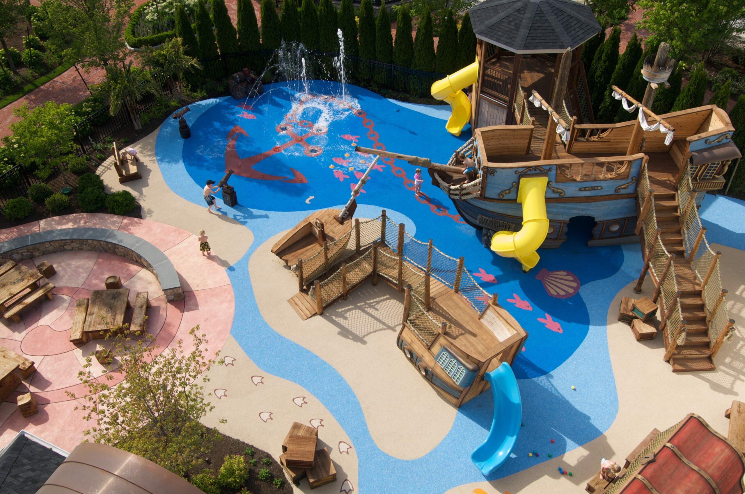Overview of Wequassett Kids park