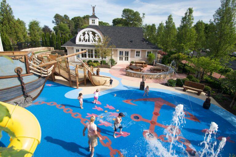 Wequassett kid water park